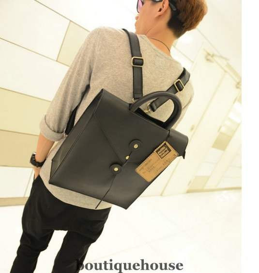 Casual Men And Women Leather Satchel Business Leather