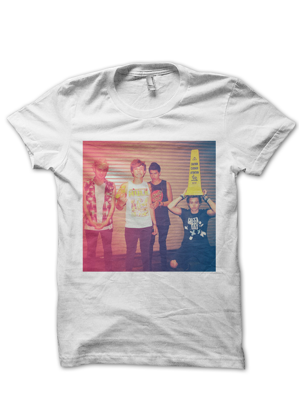 5 Seconds Of Summer T Shirt 5sos Group Photo 5sos Indie