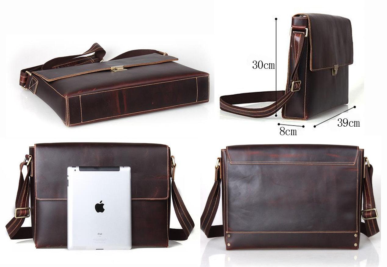 dea90c07de0a 17 Best Leather Messenger Bags For Men That ... - Tools of Men