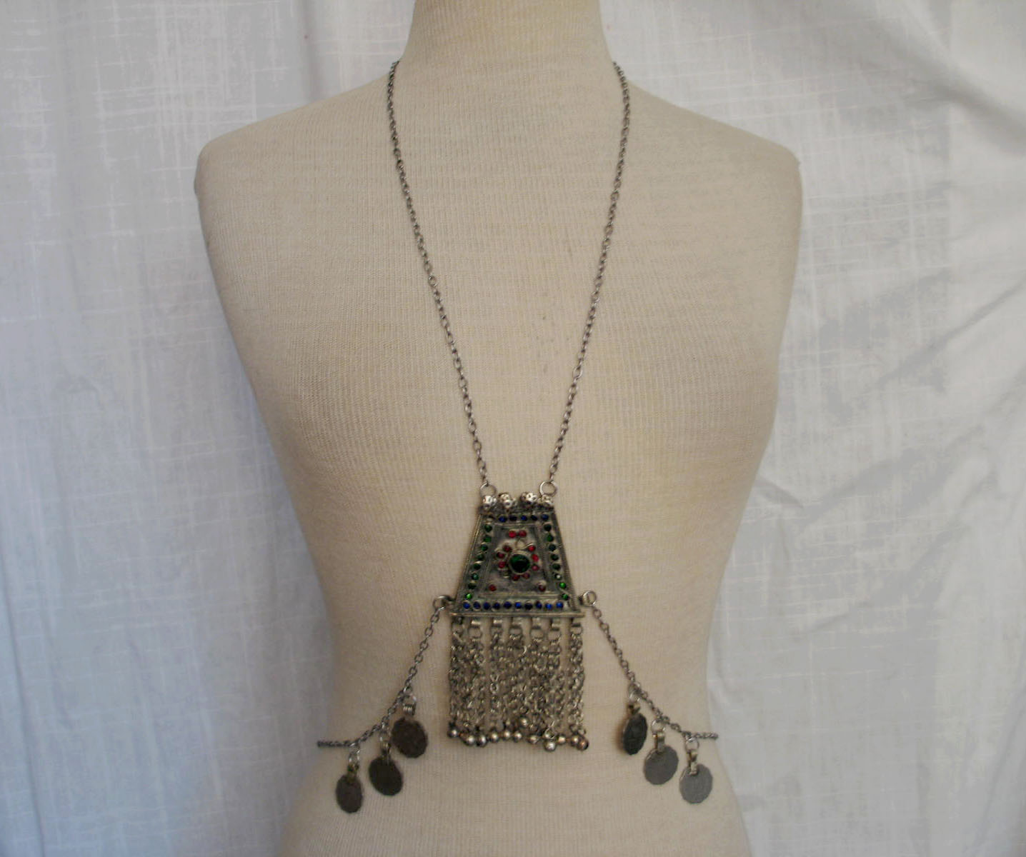 Isis body drape chain with kuchi pendants 1 on storenvy 21527 original aloadofball Gallery