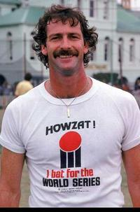 Vintage Howzat World Series Cricket tee