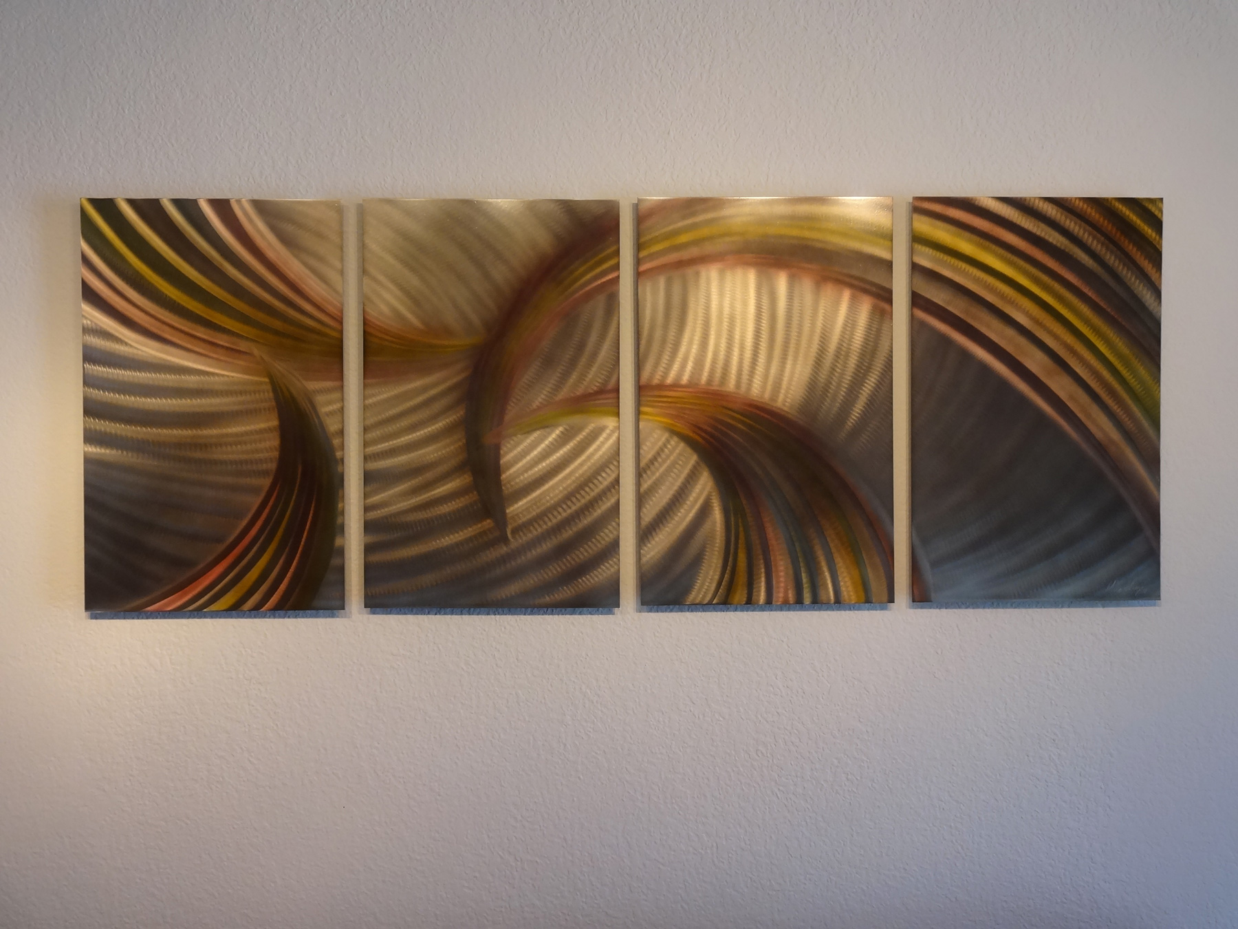 Abstract Metal Wall Art Contemporary
