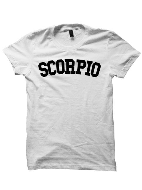 Scorpio T Shirt Team Scorpio Shirt Zodiac Sign Shirts Cool