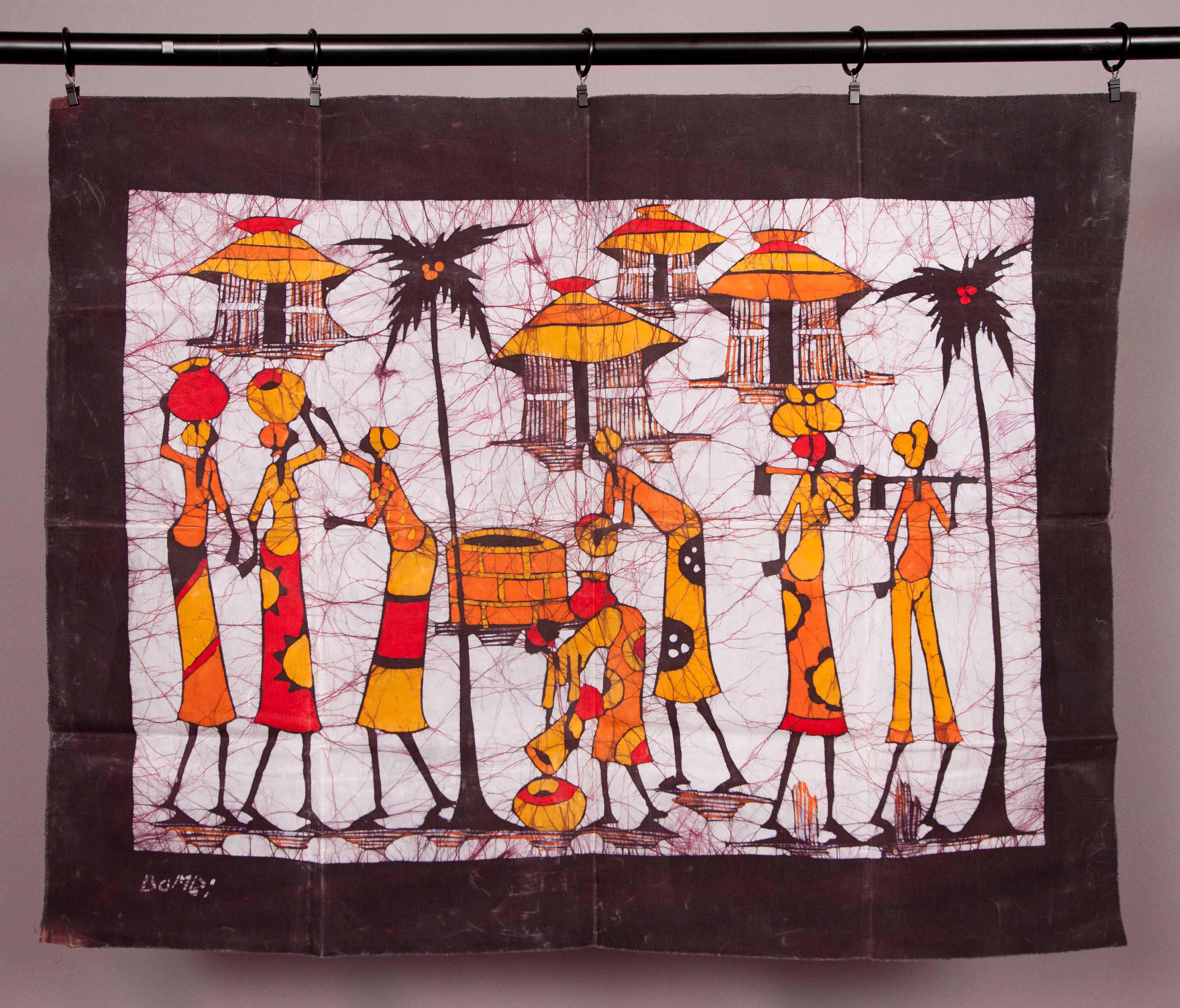 Original African Batik The Village On Storenvy