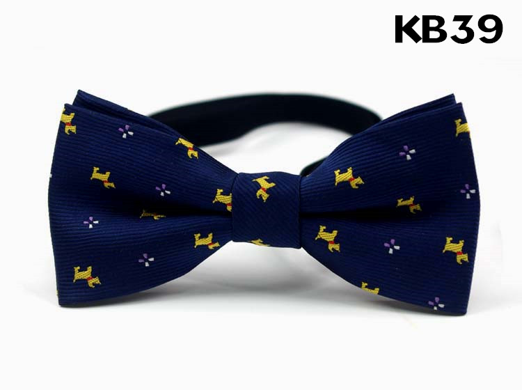 Image of 3 Different Design KID Use Bow Tie