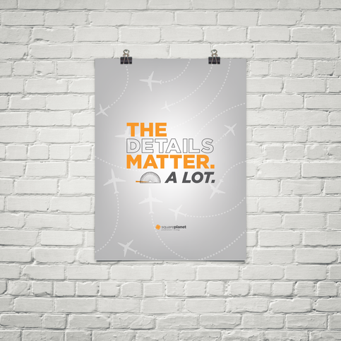 The Details Matter A Lot 18x24 Poster On Storenvy