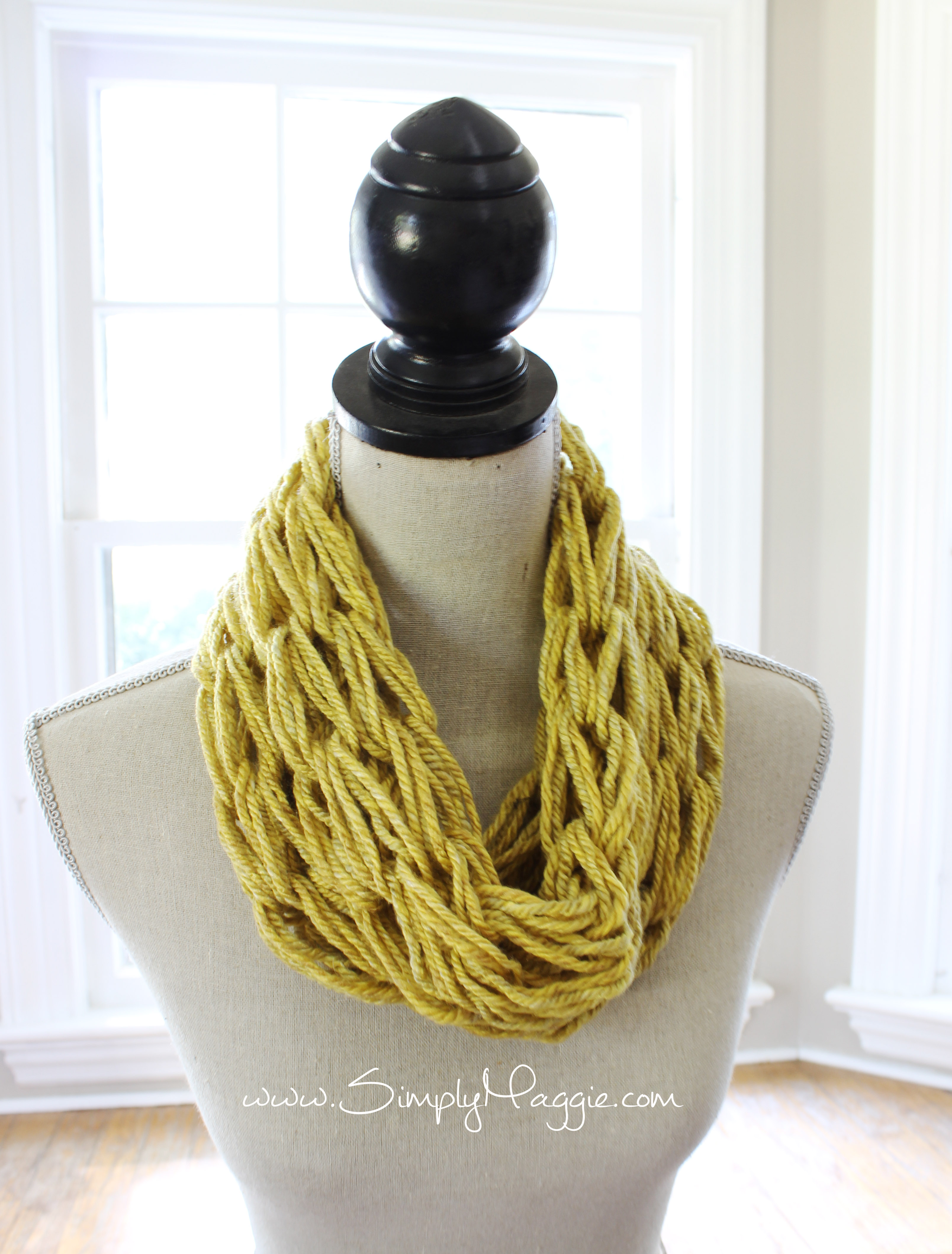 01f862e34535d Single Wrap Arm Knit Scarf · The Velvet Cove · Online Store Powered ...