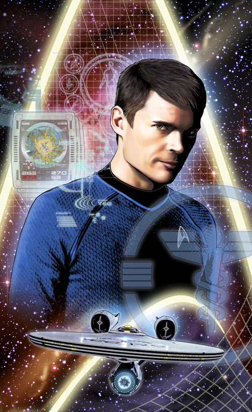 star trek ongoing  34  bones  artist print  u00b7 joe corroney art store  u00b7 online store powered by