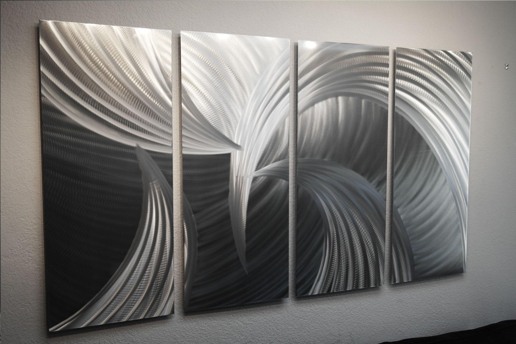 Tempest 36 X 63- Abstract Metal Wall Art Sculpture Modern