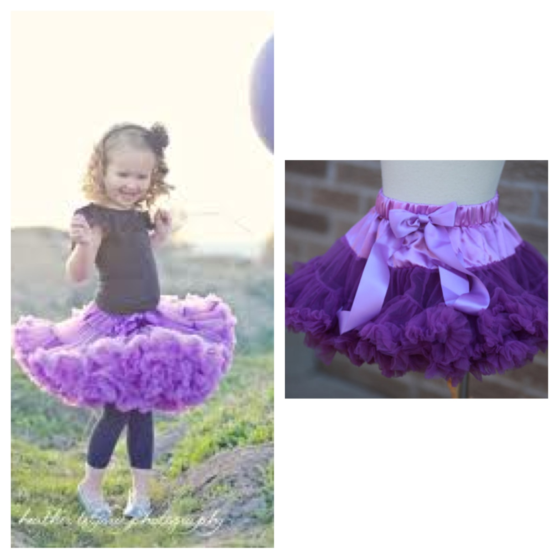 9878d30181 Lovely Lavender and Purple Pettiskirt · Emsi Bowture · Online Store ...