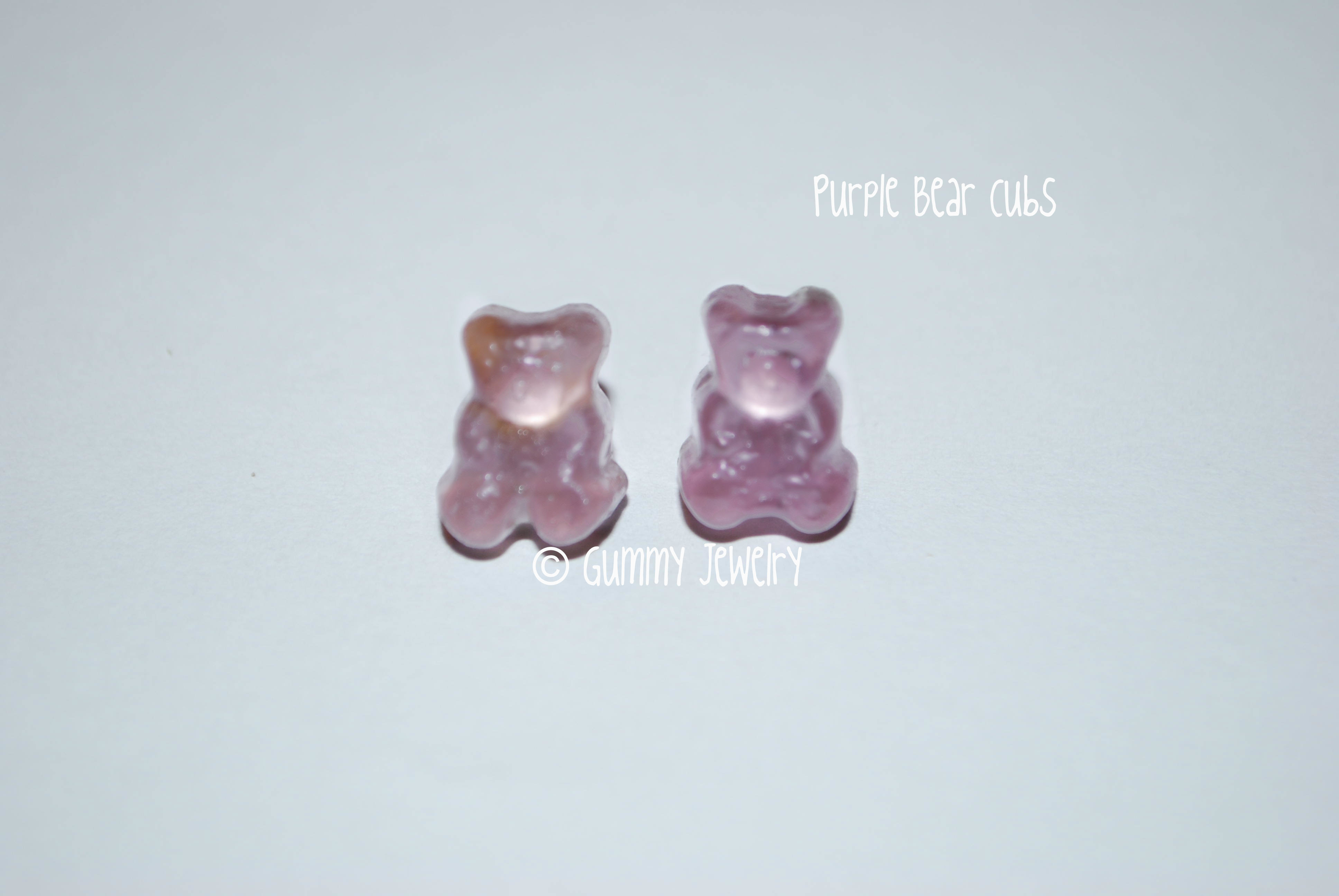 purple gummy bears