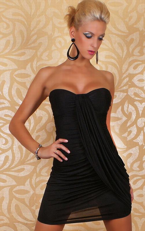 495f808f95a Sexy mini dress multicol black lc2326 2 3 small