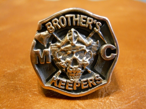 Brothers Keepers Mc Club Ring Mens On Storenvy