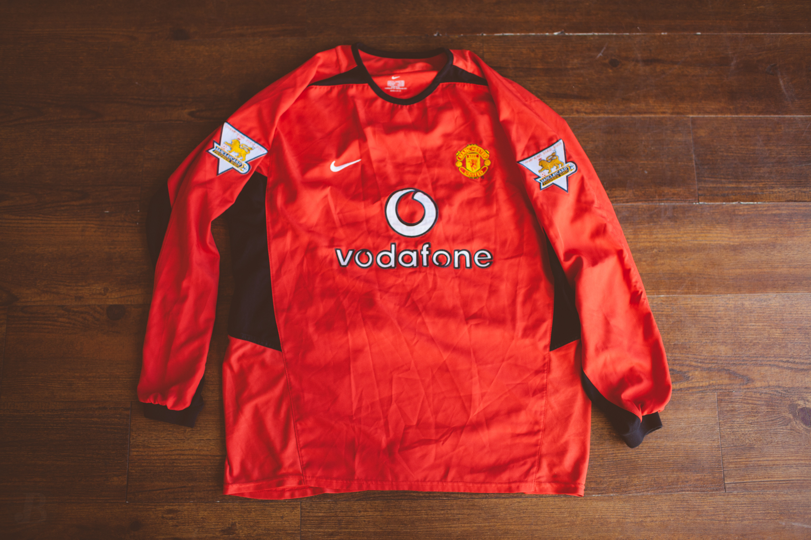 new style 4c592 c0951 Nike Manchester United Beckham Jersey XL from Kings Court Vintage