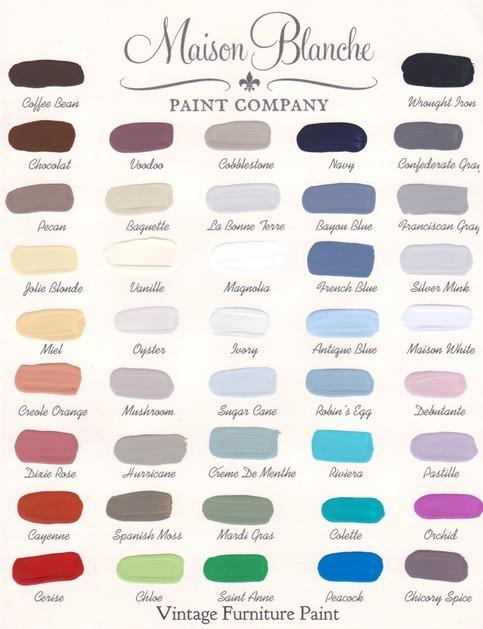 Jolie Blonde Maison Blanche Vintage Chalk Based Furniture