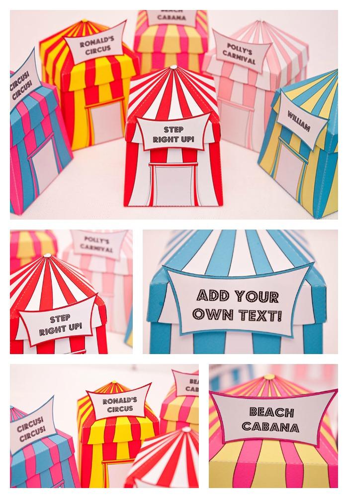 ... CIRCUS TENT Favor Box - DIY Printable - Thumbnail 2 ...  sc 1 st  Piggy Bank Parties & CIRCUS TENT Favor Box - DIY Printable | Piggy Bank Parties