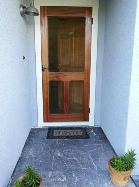 Mahogany Screen Door On Storenvy