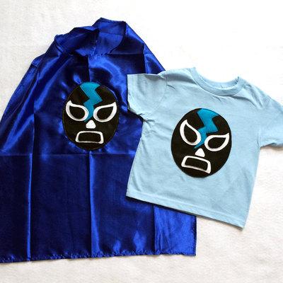 e705a1dfa9af0 Luchador Negro - Black Mexican Wrestler Toddler T-Shirt · mi cielo ...