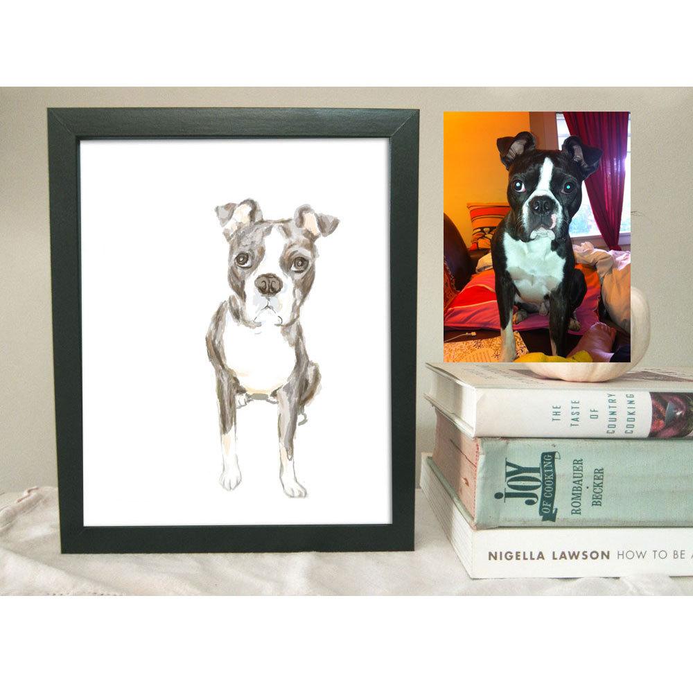 d9ff35726666 Custom Pet Portrait - Custom Pet Painting - Original Art - Dog, Cat, Rabbit