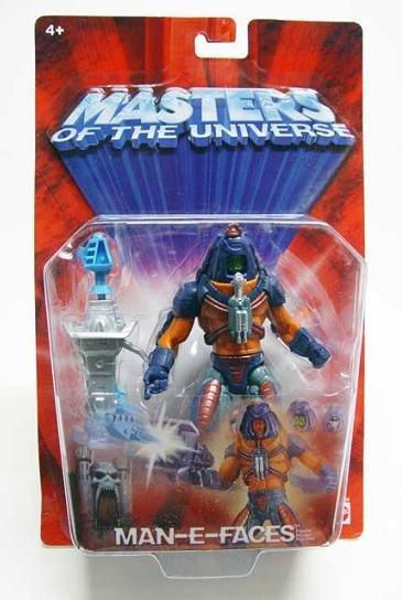 Motu Man-e-faces (variant) He-man 200x/2002 Masters Universe Classics