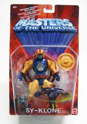 Motu He-man Sy-klone Moc 200x 2002 Masters Universe Classics