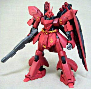 Msia Gundam Dx Sazabi Msn-04 Chars Counterattack Action Figure