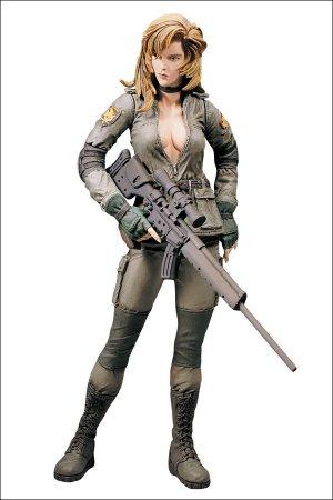 Metal Gear Solid Sniper Wolf Figure Mcfarlane Spawn Konami 1998 Mgs Series 1