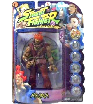 Street Fighter 3 Akuma Figure Statue Capcom Resaurus Sota Pcs Gouken