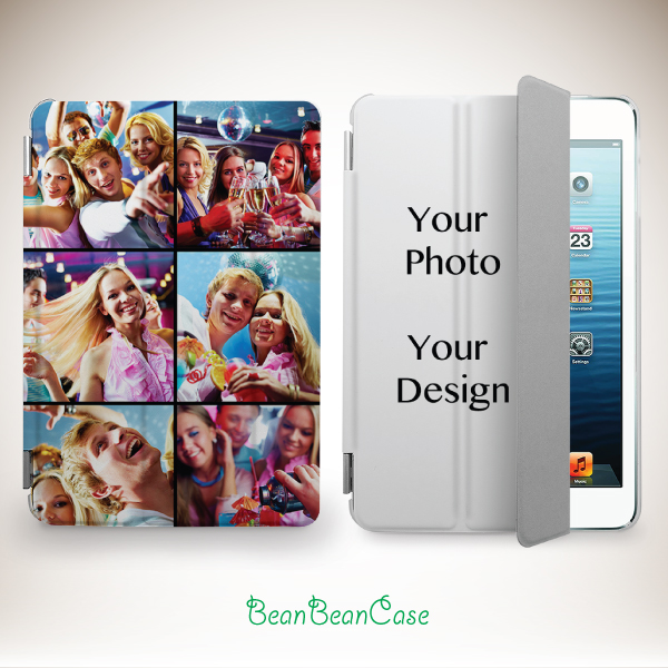 huge discount 1250e 9af2f Custom photo picture personalized image design on smart cover case for iPad  mini case, new iPad mini retina 2 case, iPad Air case from BeanBeanCase