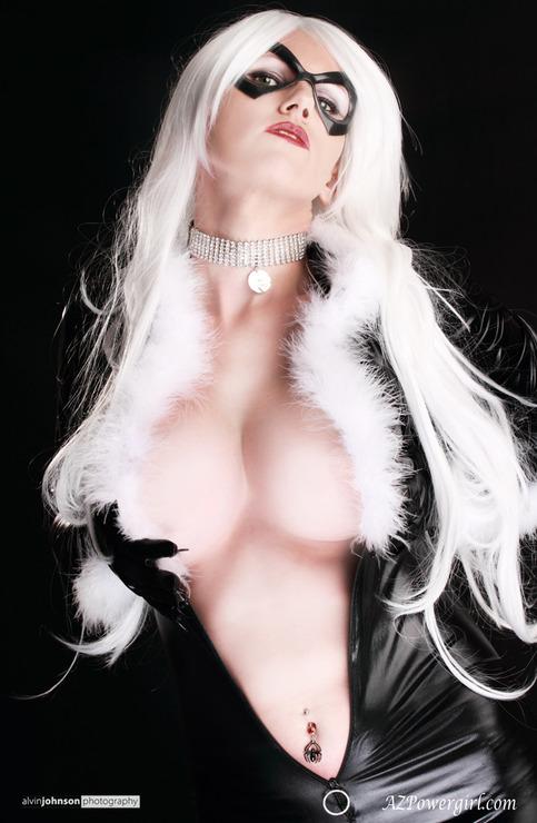Black Cat Meow 11x17 Azpowergirl Cosplay Print On Storenvy