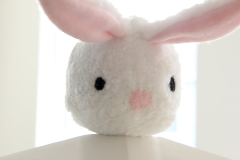 4a25ce275e0 ... White Bunny Rabbit Plush Toy - Cindy - adorable cute soft white stuffed  animal softie -