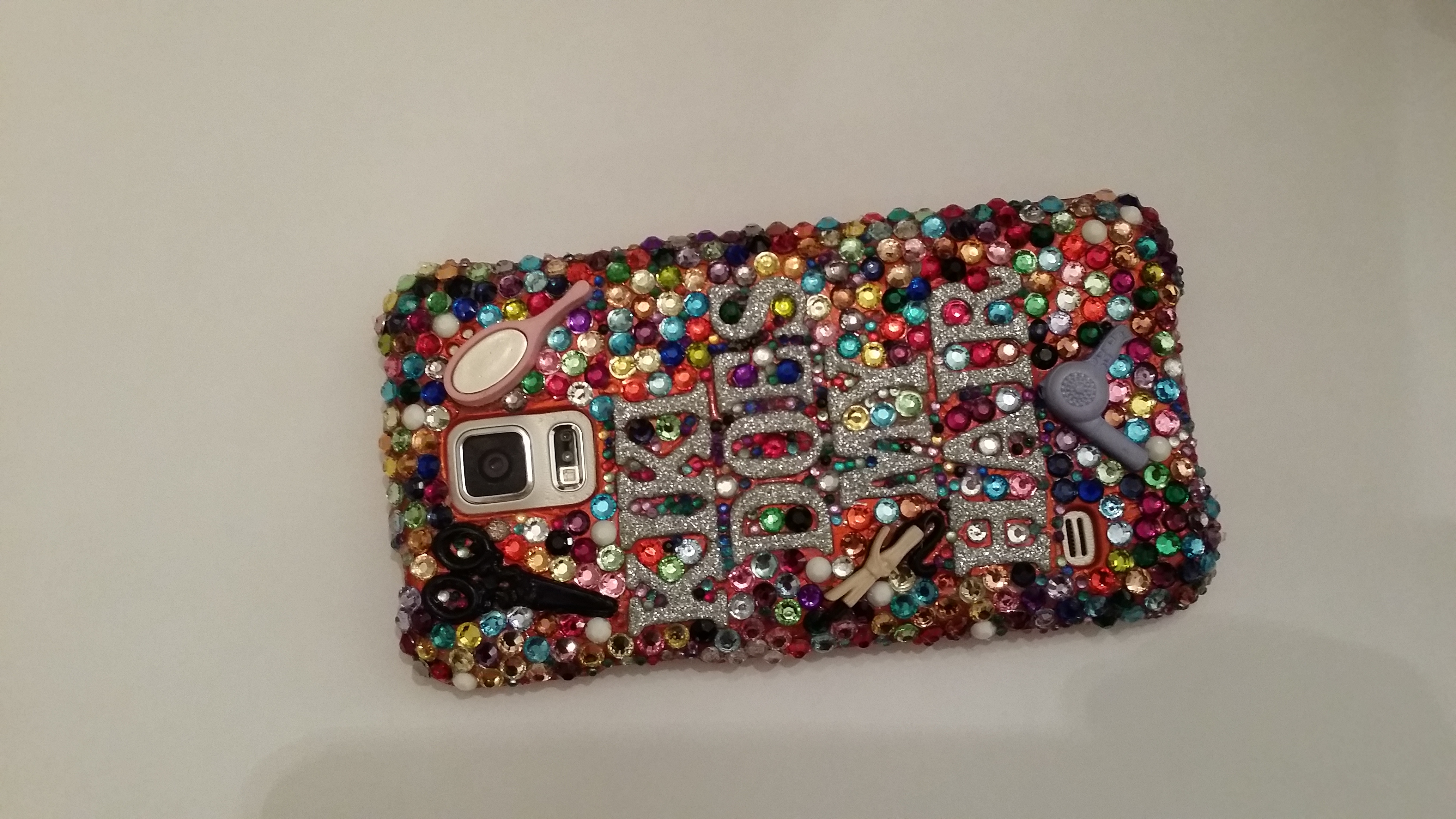 super popular dfeaf 52334 Kewl Jewels Custom Samsung Galaxy S5 case from KiKi's Krazy Kewl Jewels