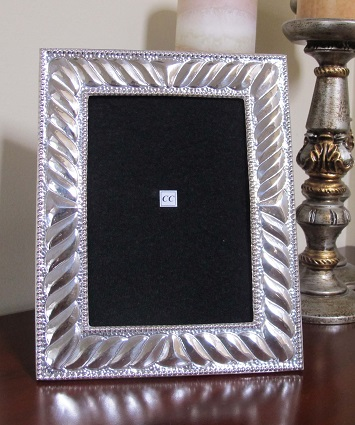 Sterling Silver Picture Frame Great Breeze 5x7 Sofias