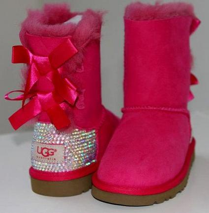 Rhinestone Ugg Boots Made With Swarovski Crystal Bailey