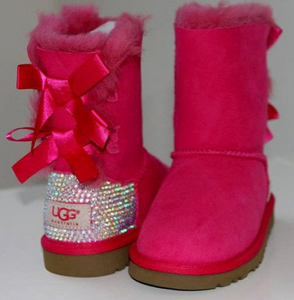 Rhinestone Ugg Boots Made With Swarovski Crystal Bailey