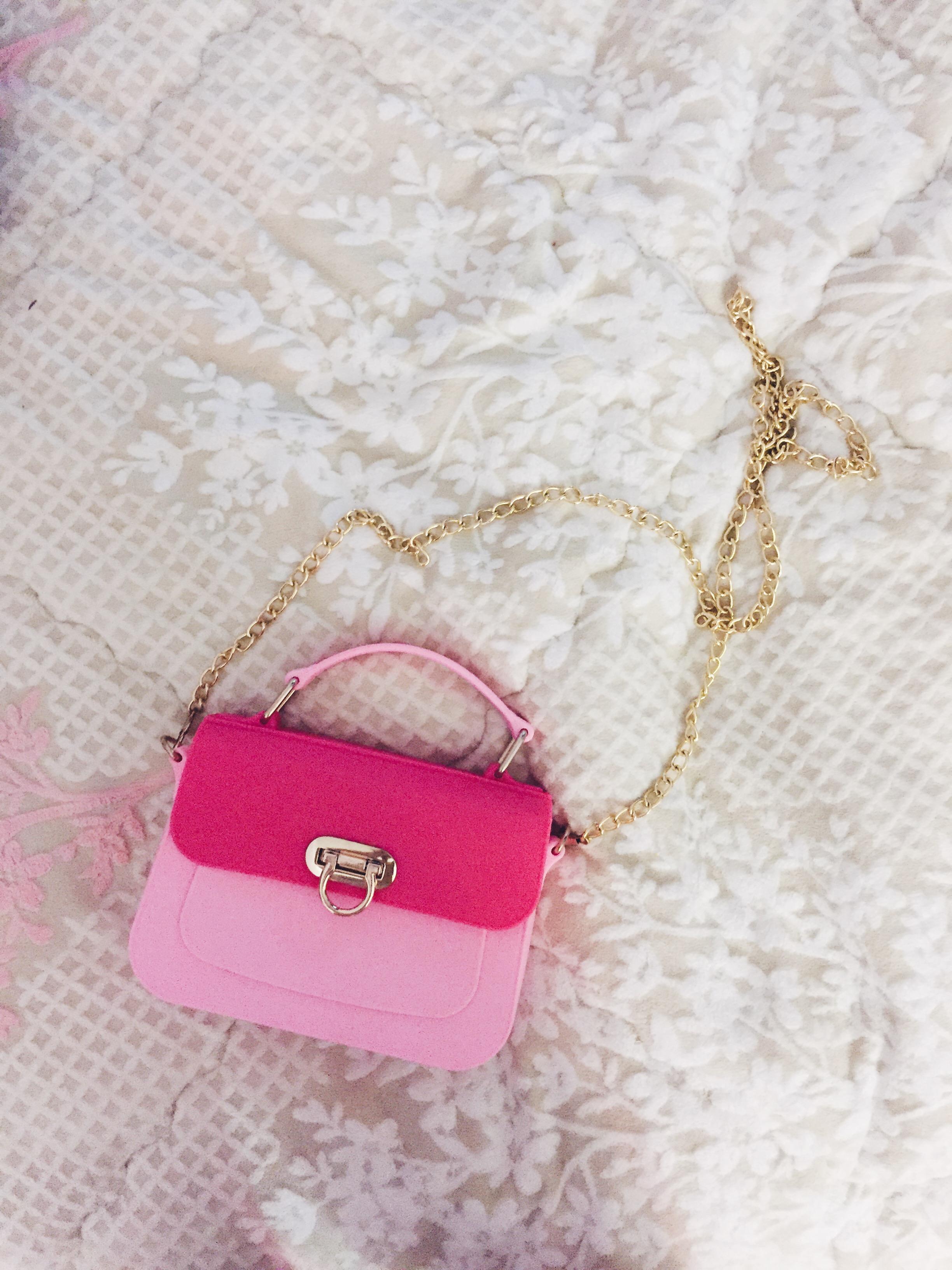 Pink Jelly Mini Purse (25769127 NoirFairy) photo
