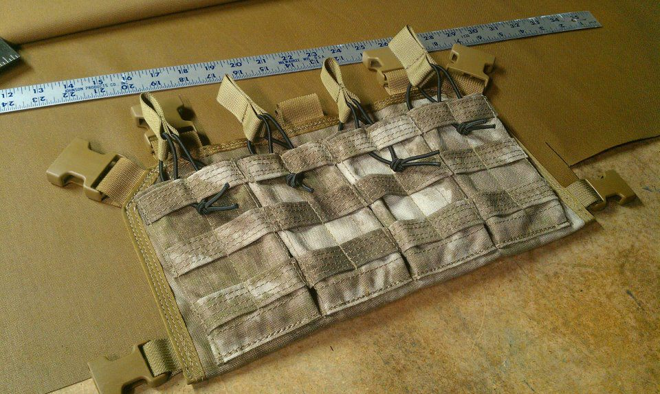 4 Mag Ak/m4 Chest Rig Compact Type Camo