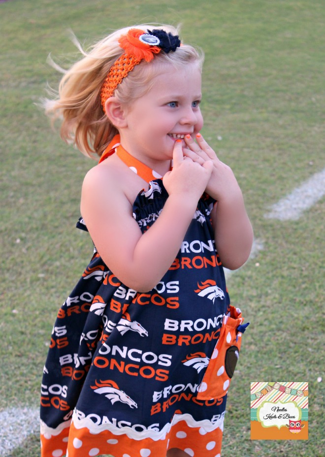 3b95259caaea Girls Denver Bronco s Cheerleader Dress
