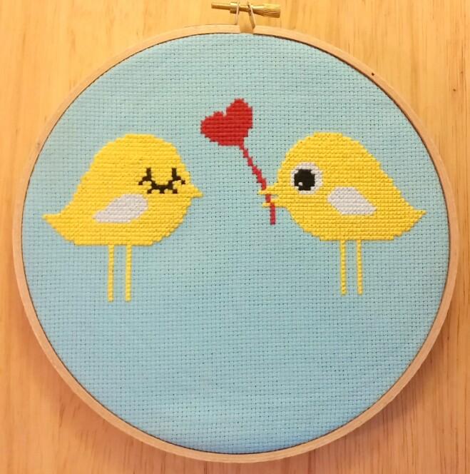 Lovebirds from Alluvia Designs