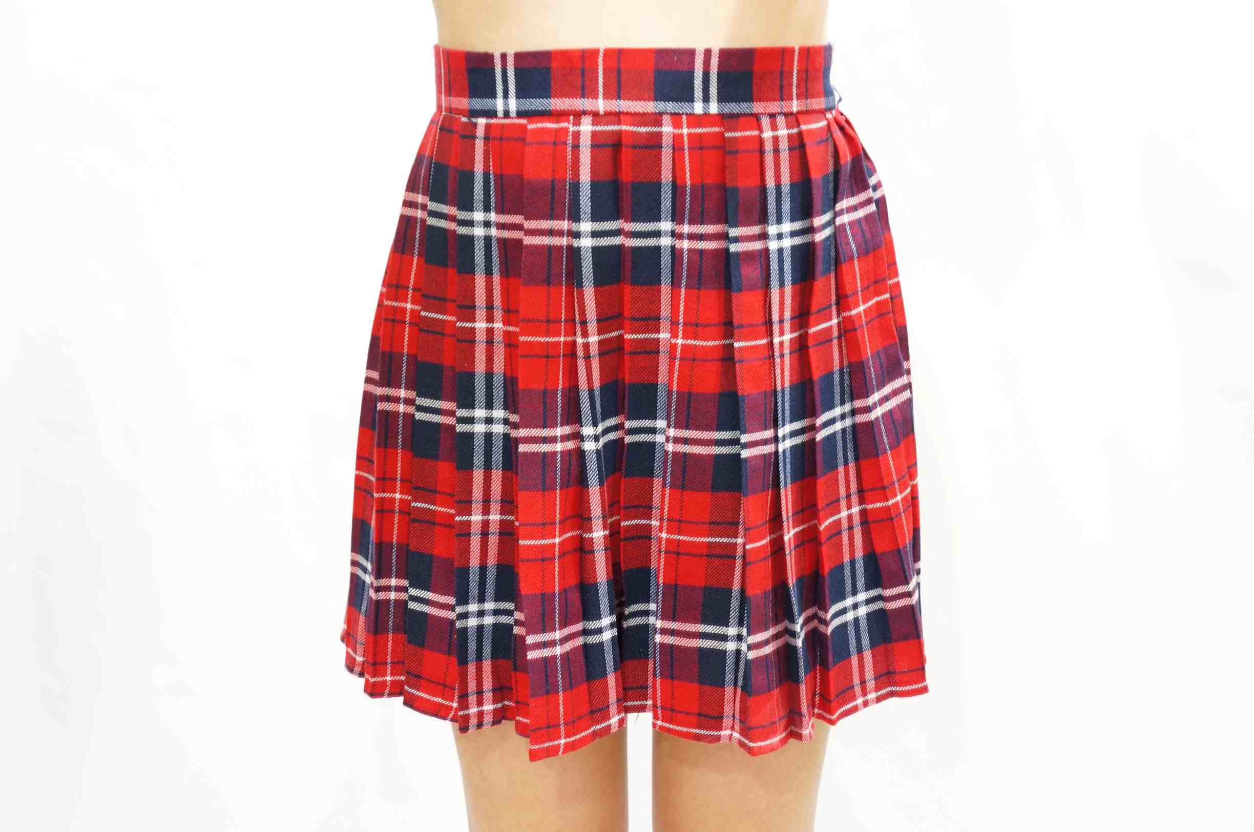 9db73cf24e Red Plaid Skater Skirt - XL · Sandysshop · Online Store Powered by ...