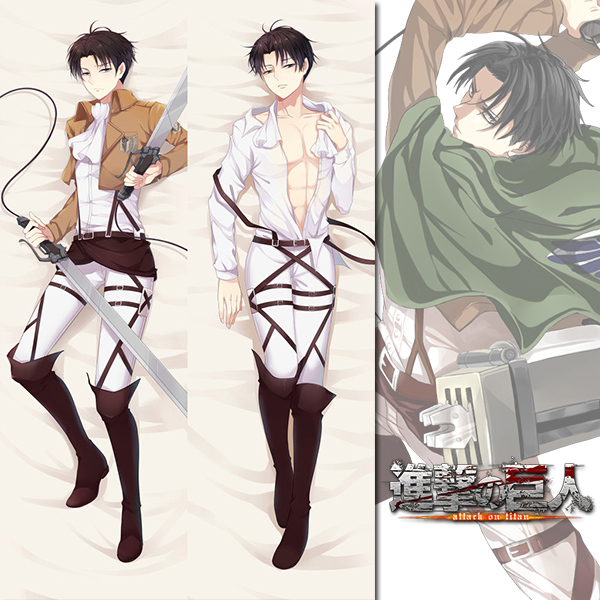 Brand New Levi Ackerman - Attack on Titan Dakimakura ...