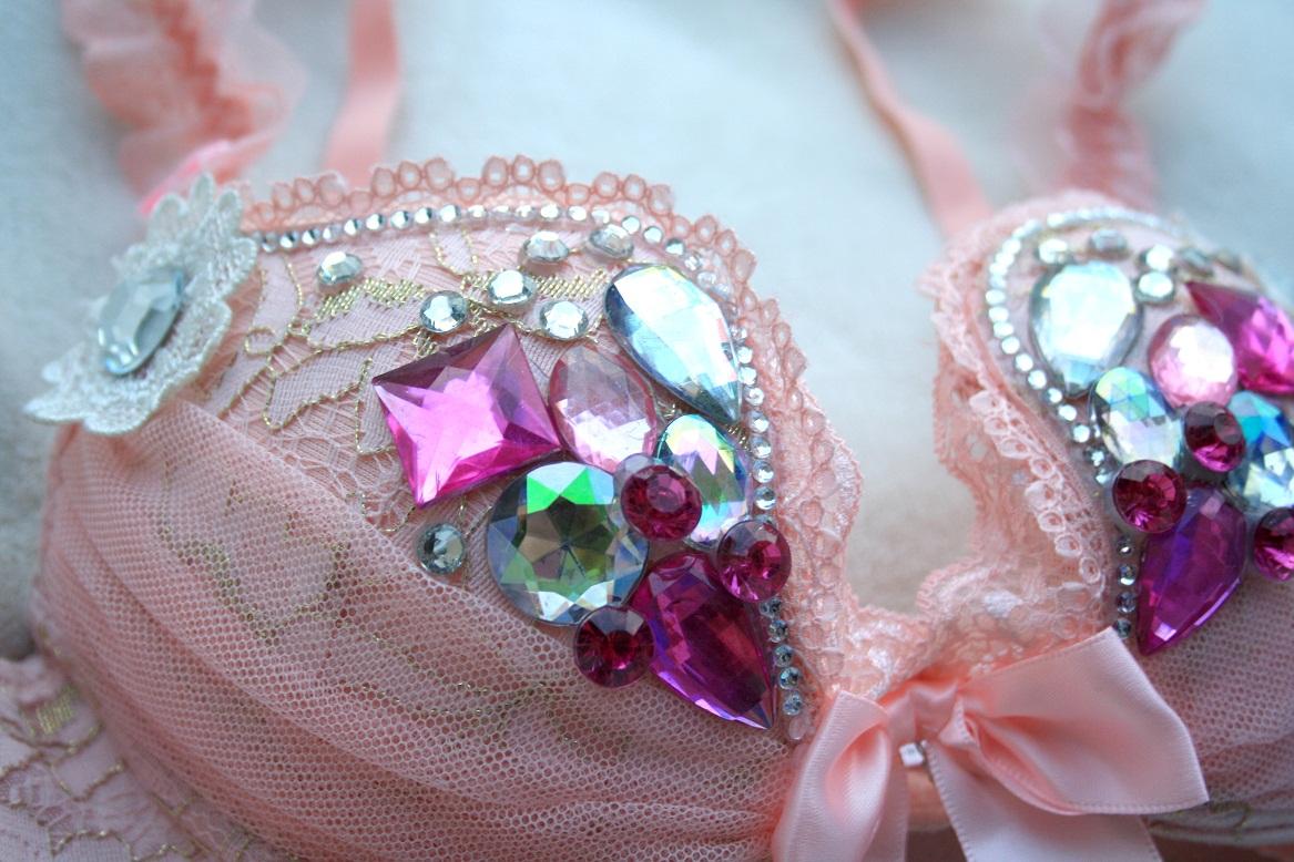 bd921b6aa49e5 32B Sweet Doll Rave Bra · RaveLux · Online Store Powered by Storenvy