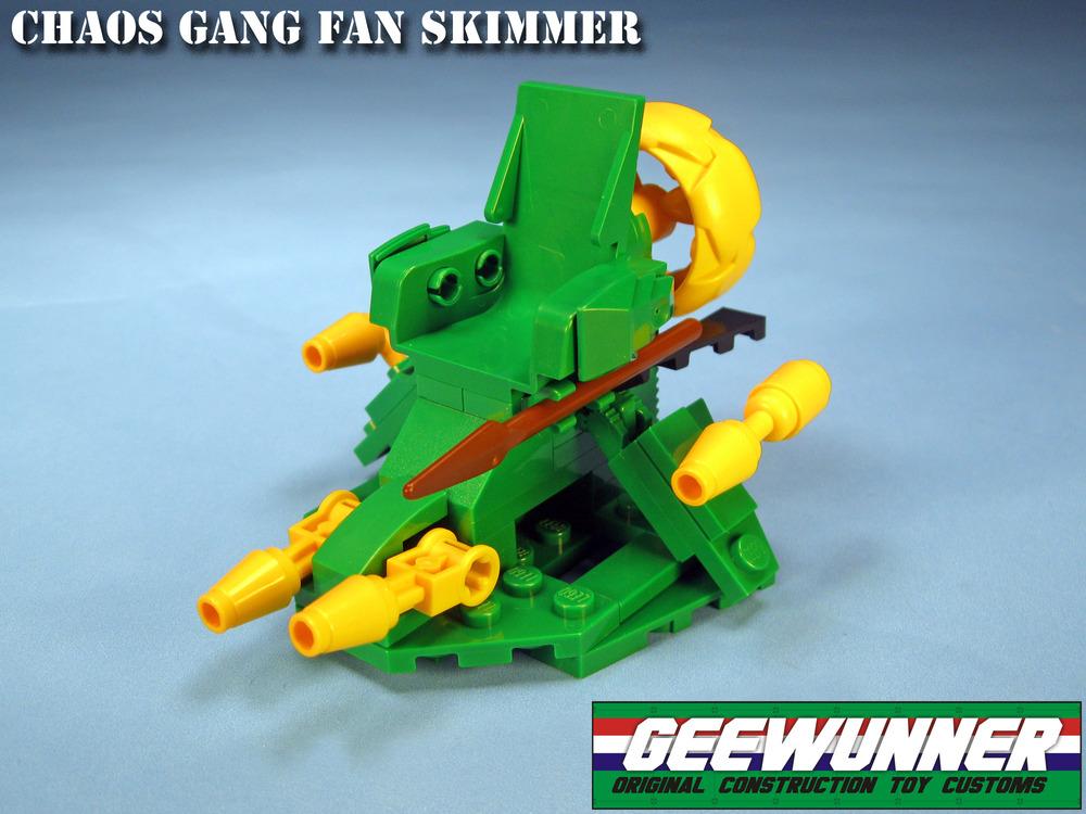 Chaos Gang Fan Skimmer from Geewunner Customs