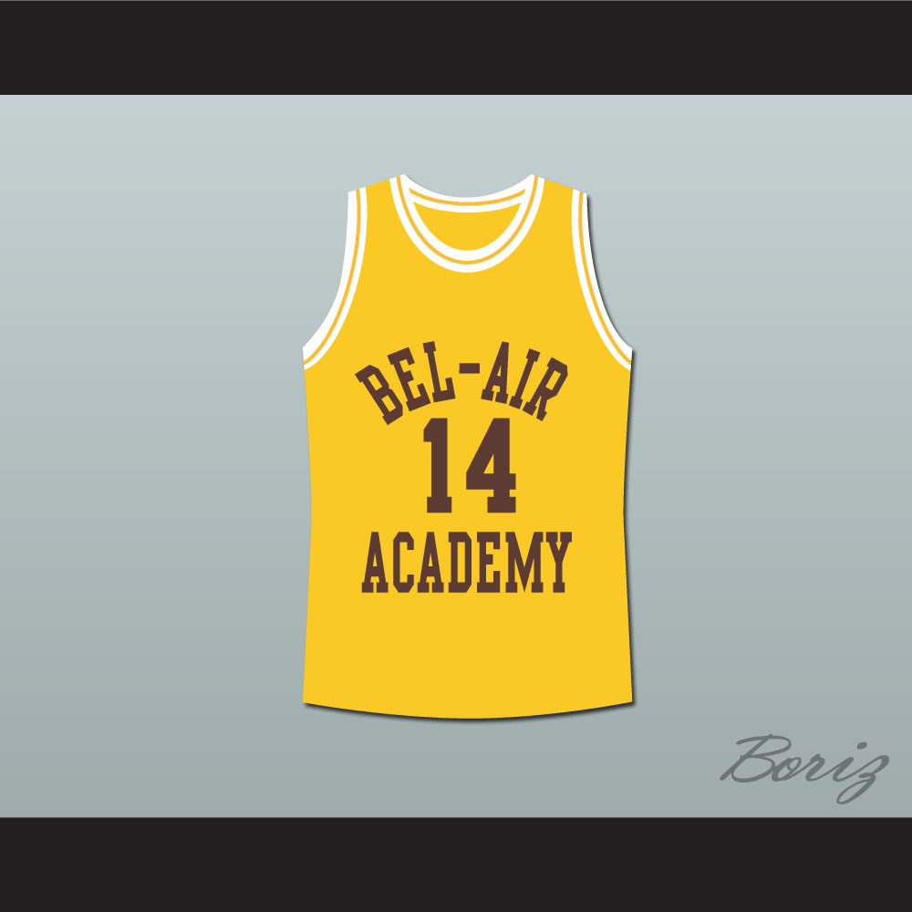 8f44009ba6d4 The Fresh Prince of Bel-Air Will Smith Bel-Air Academy Basketball Jersey