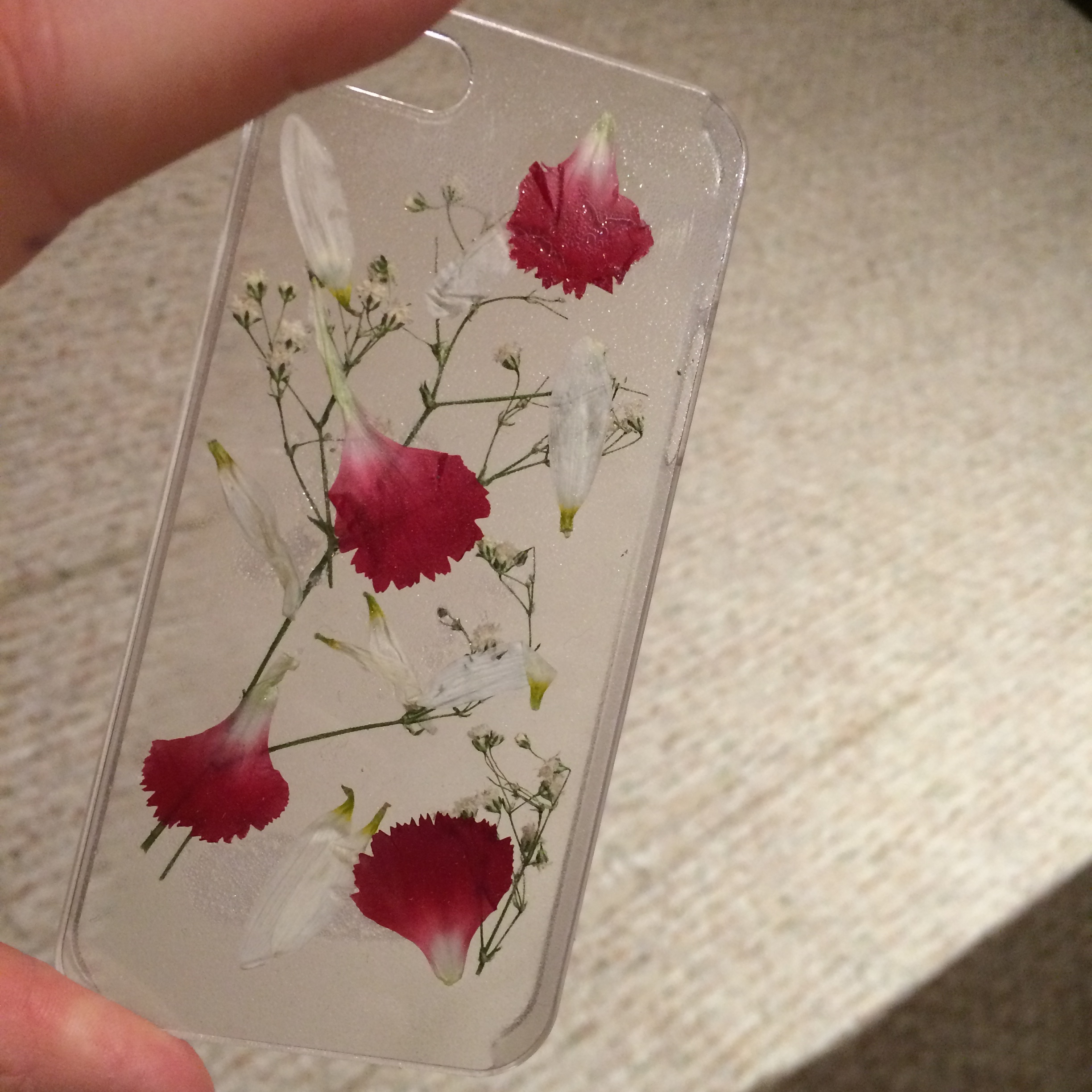 the latest 2f792 66f88 Pressed Flower Case iPhone 5/5s