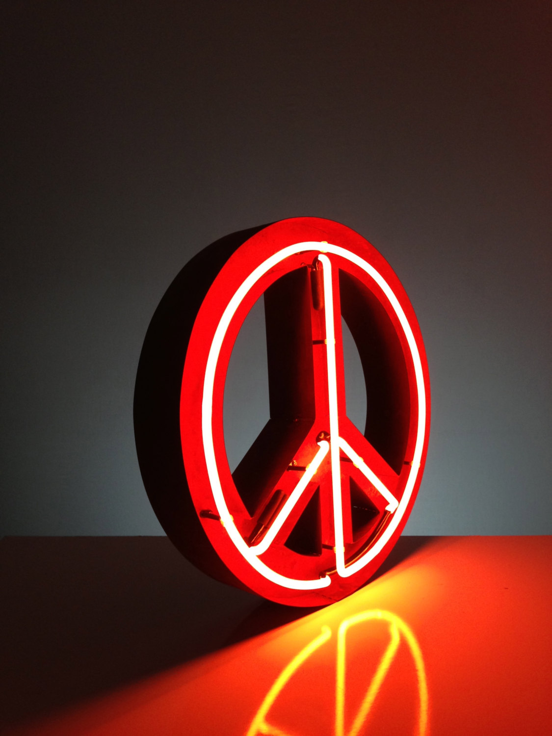 Cool Neon Peace Signs | www.imgkid.com - The Image Kid Has It!