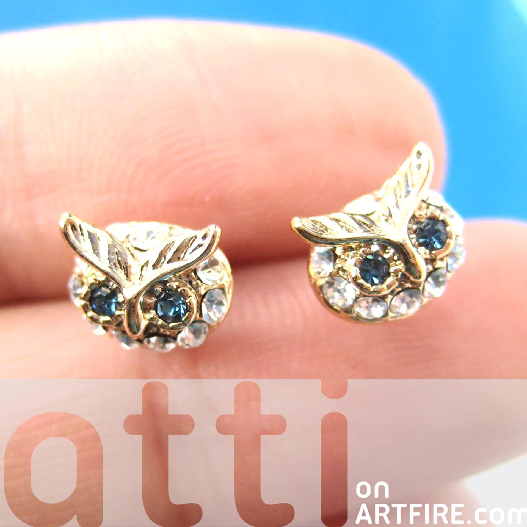 Turtle cartilage earrings