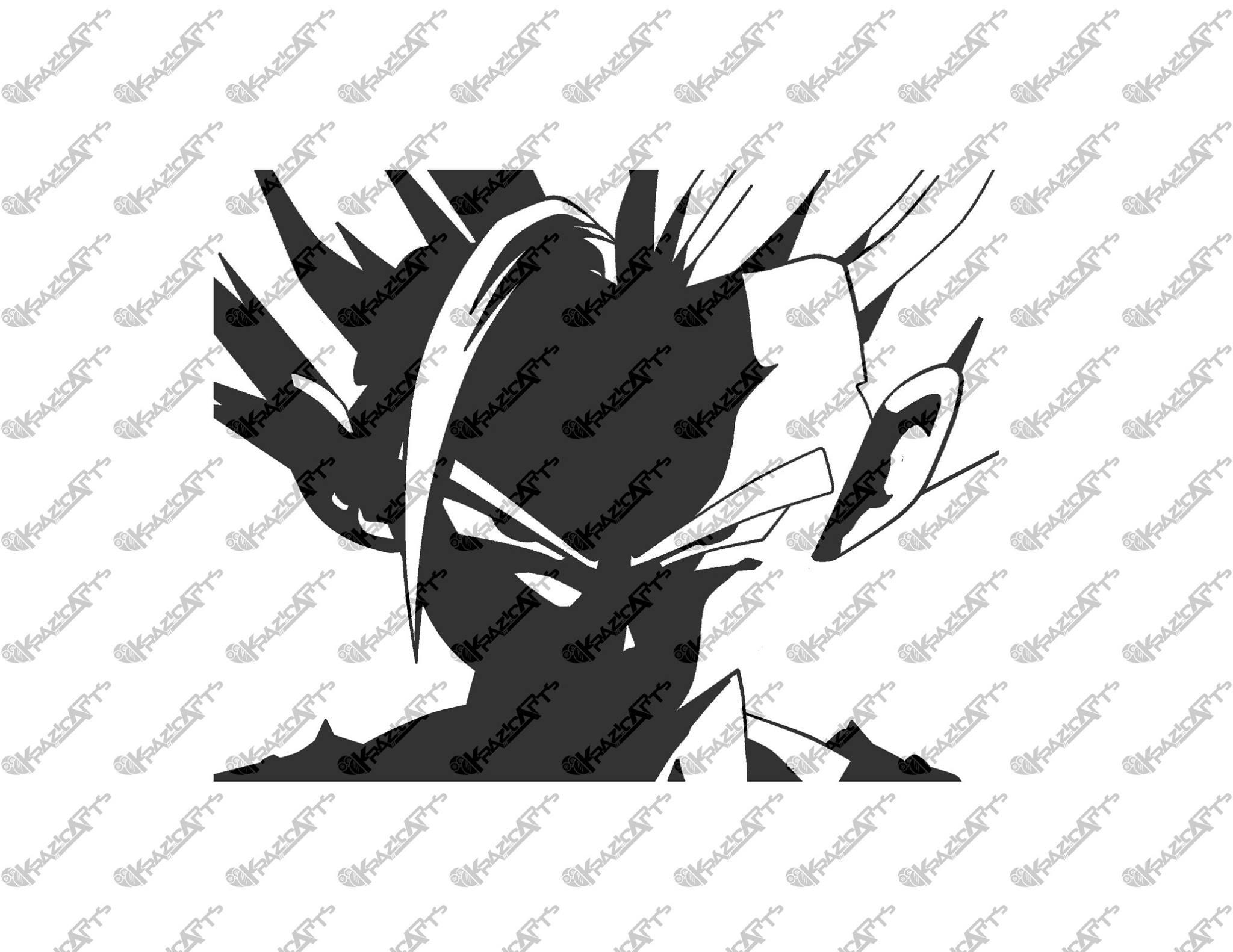 Dragon Ball Z Son Gohan Vinyl Sticker On Storenvy - Vinyl stickers design