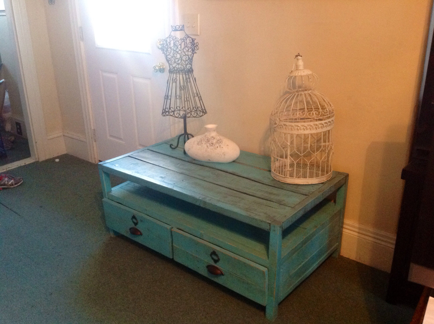 Reclaimed Pallet Wood Coffee Table Sold By Sameasnever On Storenvy