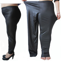 301aee3b6ef Envy This Collect. Plus Size Women s Faux Leather Casual Leggings ...
